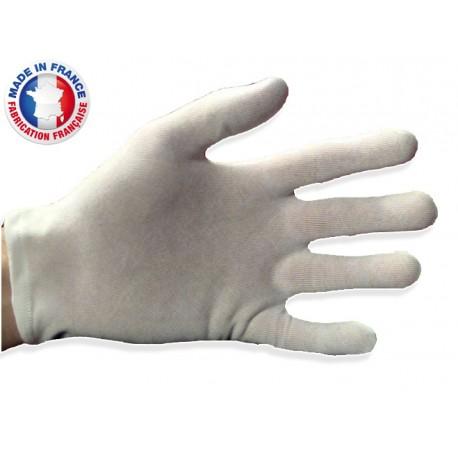 gants blancs de manipulation en coton pour femme. Black Bedroom Furniture Sets. Home Design Ideas
