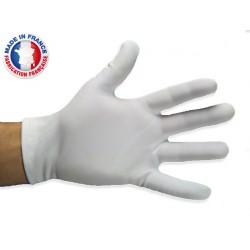 Gants blancs de manipulation en nylon lourd