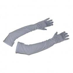 Gants blancs longs 48cm