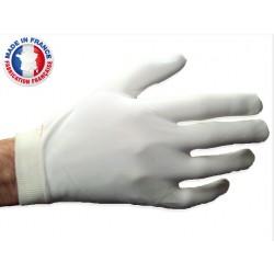 Gants nylon lourd blancs pour manutention