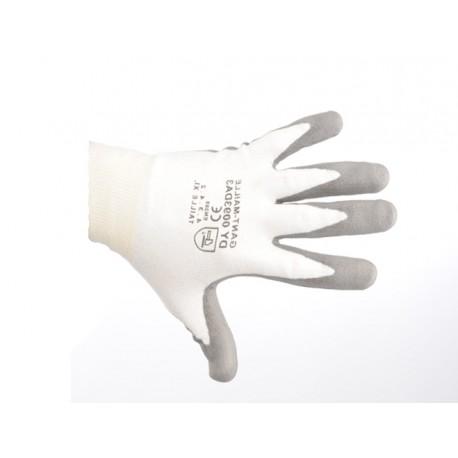 Gant blanc de protection en fibres DYNEEMA